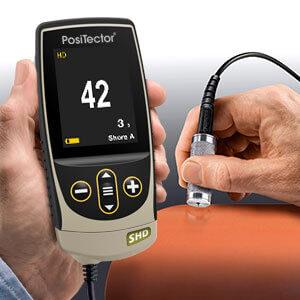 PosiTector Shore Hardness Durometer A.