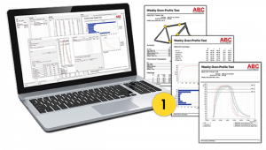 Posisoft Oven temperature data logger report